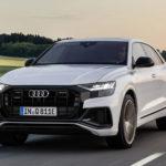 Audi「新型 Q8 PHEV」は次世代AUDIのフロントフェイス?