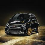 アバルト「595 スコルピオーネオーロ」がカッコいい!ブラック&ゴールドの限定仕様!