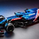 アルピーヌ「A521」新型F1マシンを初公開!RENAULTはALPINEへ!