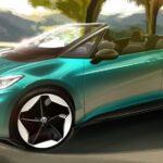 VW「ID.3 カブリオレ」市販化へ?デザインスケッチを公開!