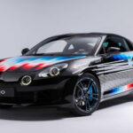 アルピーヌ「A110 x フェリペ・パントネ」発表:世界に4台だけのアートモデル!