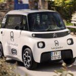 シトロエンの超小型EV「アミ」に商用バン仕様が発表!デザインは圧倒的で…